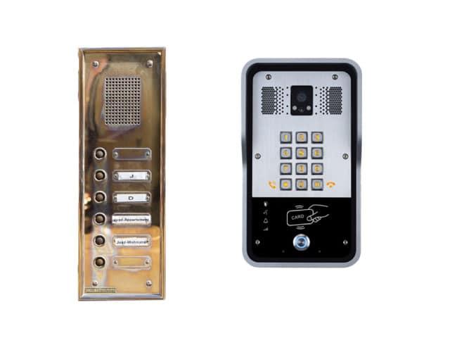 รูปแบบ เก่าและใหม่ สำหรับระบบ intercom