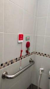 ที่เรียกขอความช่วยเหลือ ห้องน้ำ